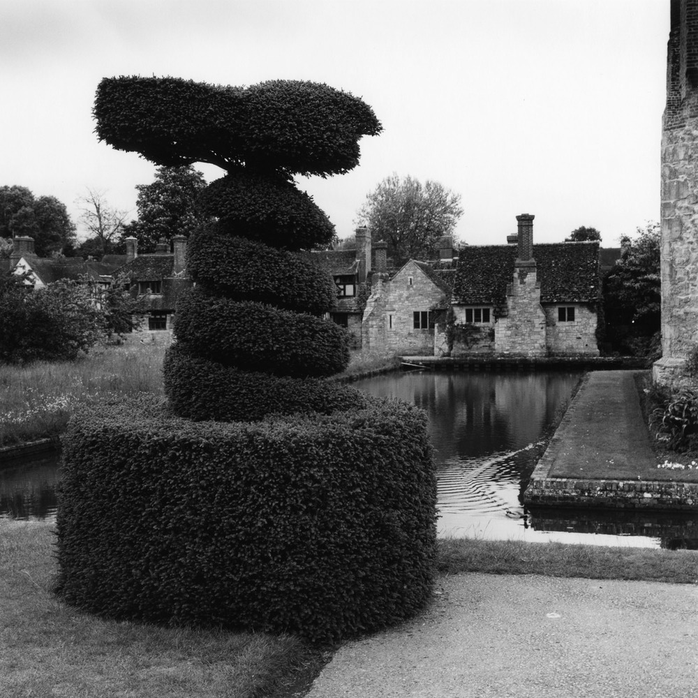 Topiary and Moat, Hever Castle