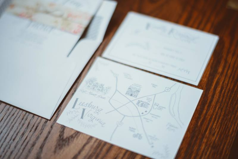Illustrated map. Photo c/o Jason Collins Photography.