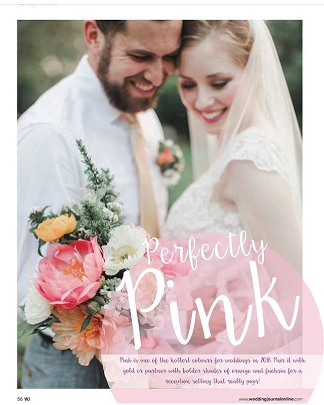 So awesome that Freely's @wollamgardens styled shoot ended up in the 2016 Spring edition of @weddingjournal!  This was almost a full year ago but the colors and styles are still so timeless and fresh! So proud of all the hard work Freely and the other vendors put into making this happen! #wedding #weddingseason #style #bride