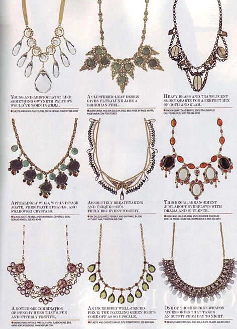WWD ACCESSORIES MAGAZINE INTERIOR