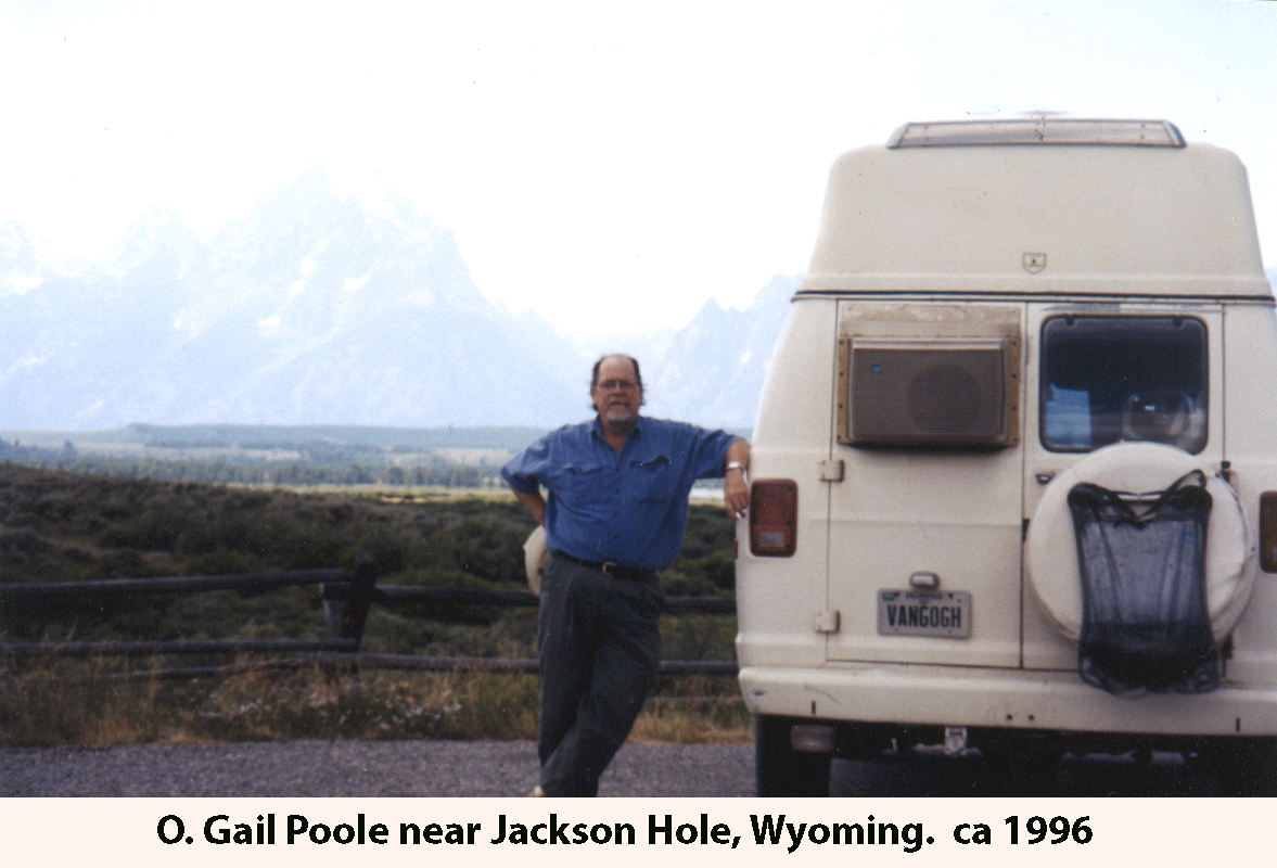OGP near Jackson Hole Wyoming - ca1996