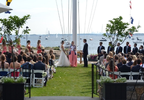 Charlotte And Scott The American Yacht Club Rosehip Social
