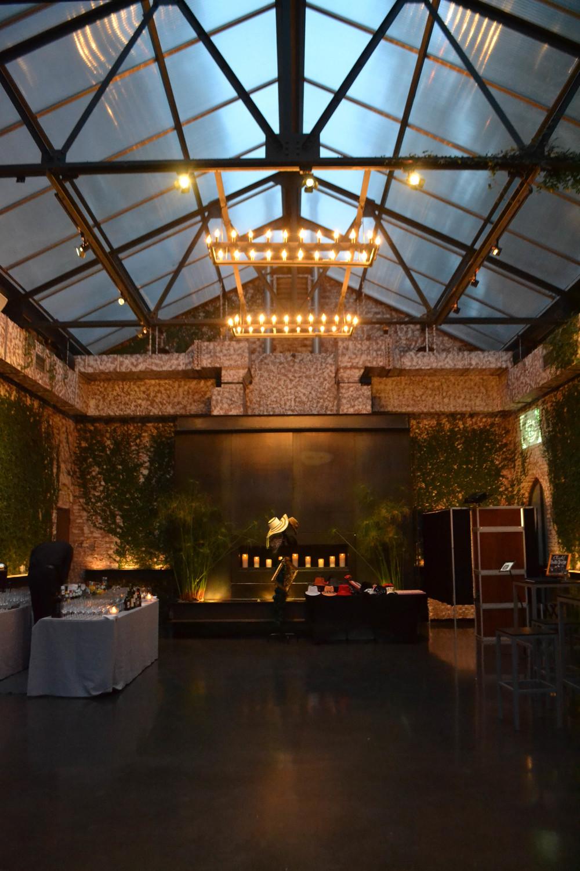 Foundry Atrium cocktail hour
