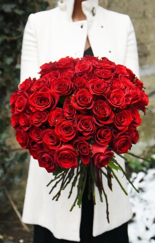 Five Dozen Rose Bouquet — Rosehip Social