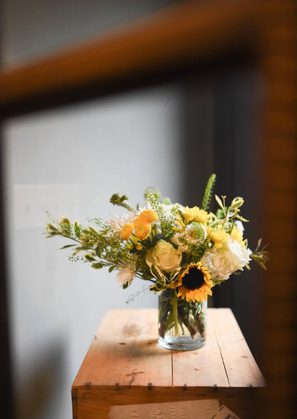 Sunflower Center Piece