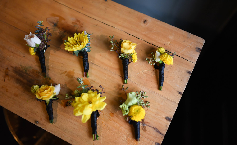 Vibrant Summer Boutonnieres