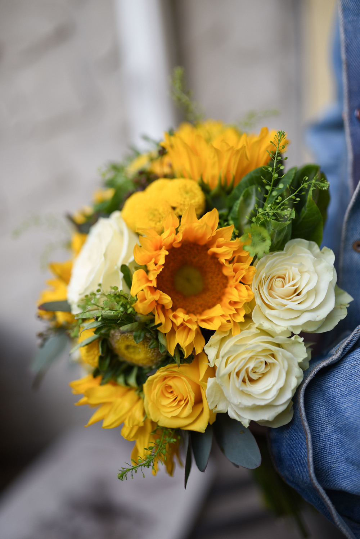 Vibrant Bridal Bouquet