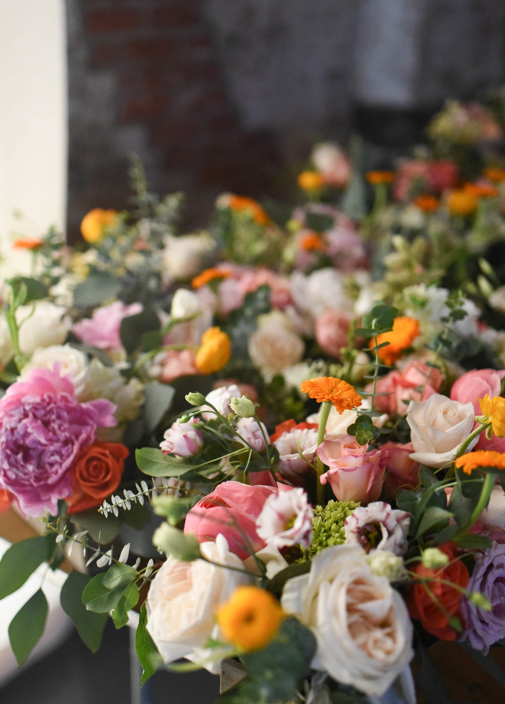 Endless blooms at this Brooklyn wedding