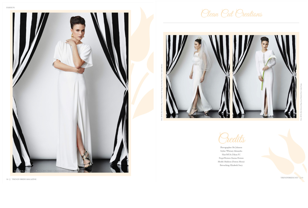 Trendy Bride Magazine, Photography © Bri Johnson