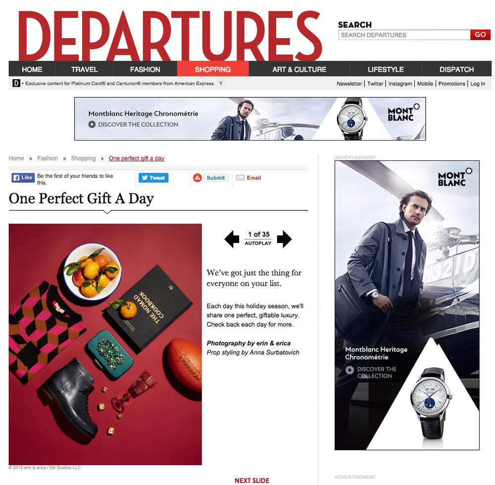 © erin & erica for DEPARTURES magazine