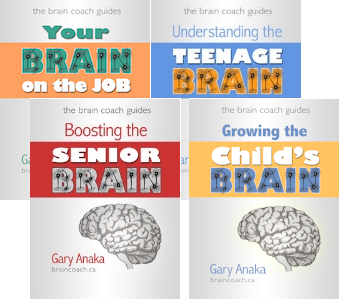 The Brain Coach Guides - Easy-to-read summaries of Gary's most popular workshops.