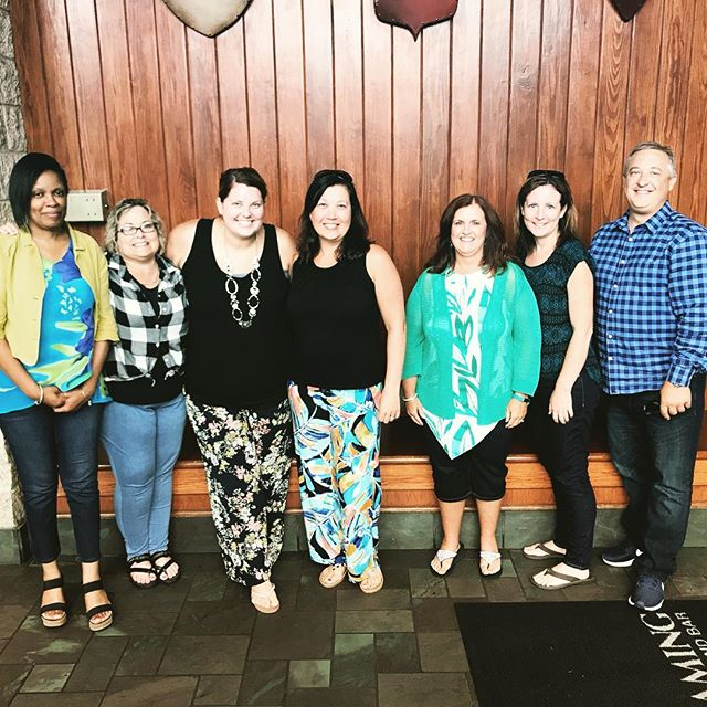 ending #nationalpayrollweek with a great lunch with our incredible @ttl.hr team! Thank you for all your hard work to keep us moving! #WorkWithOrange