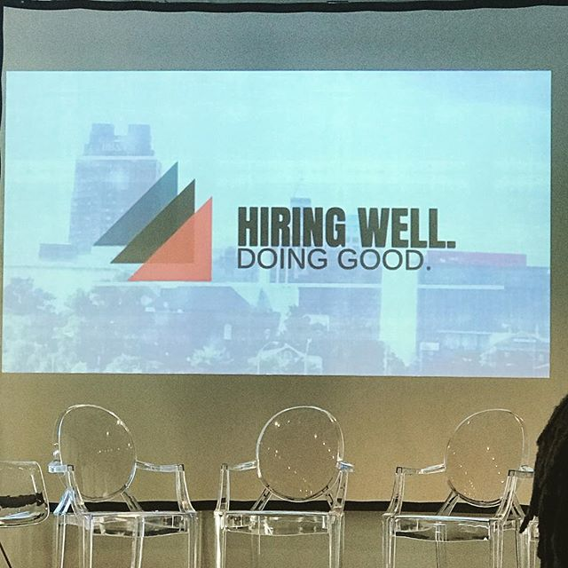 a great morning learning more about programs that support hiring well! #workwithorange