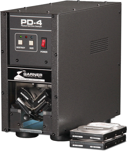 PD-4 Hard Drive Crusher