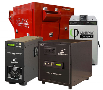 Many high security solutions specify a combination of erasure and  physical destruction/degaussing .