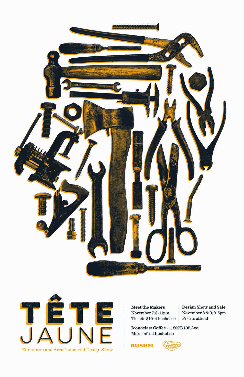 TeteJaune-Event-Poster