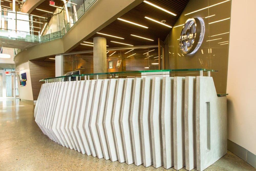 PCL Front Reception Desk