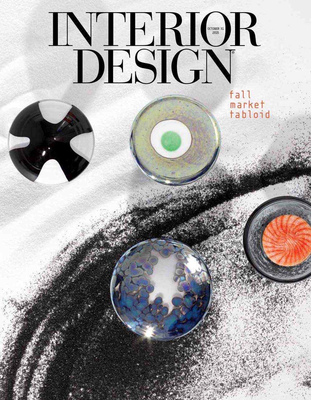 Interior Design Fall Market Tabloid  2015