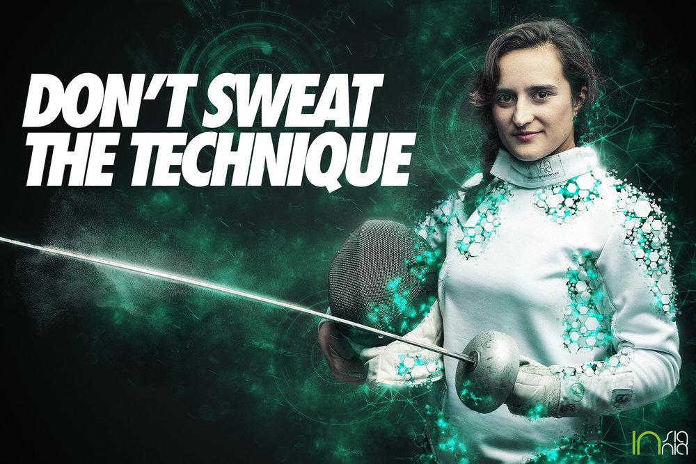 """""""Don't sweat the technique"""""""