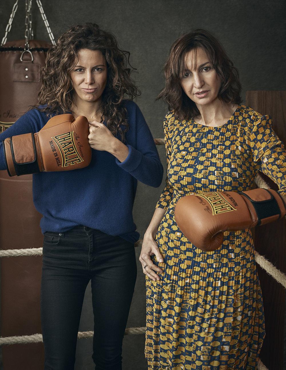 Laura Madrueno y Julia Vidal