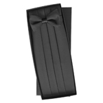 cummerbund and bowtie