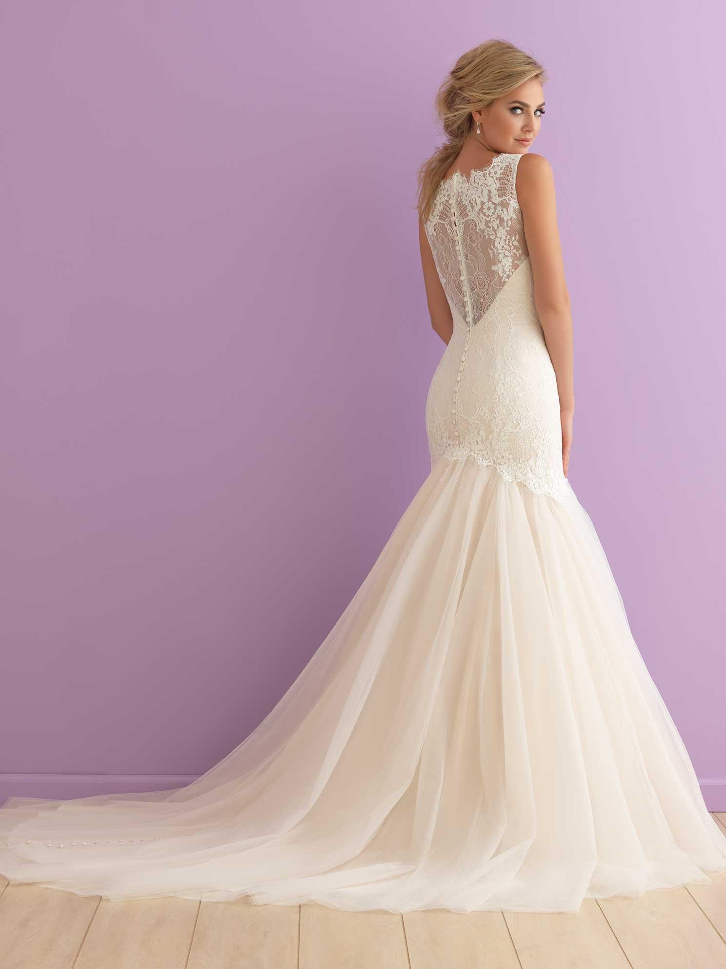 Allure Romance 2911 Ivory Size 12 Eleganza Tuxedo Bridal Gallery