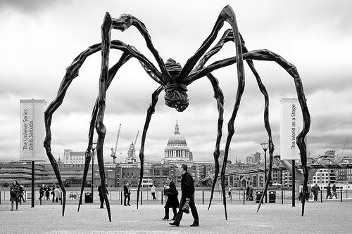 """""""Maman,"""" at the Tate Modern, London 2007"""
