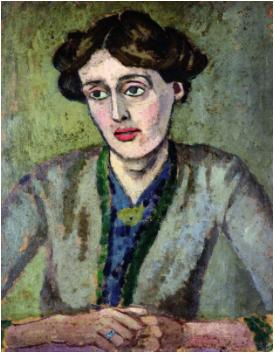 Portrait of Virginia Woolf by Richard Fry, 1917