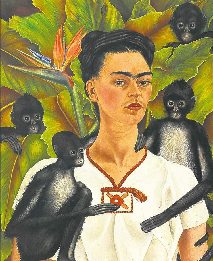 """Self Portrait with Monkeys"""