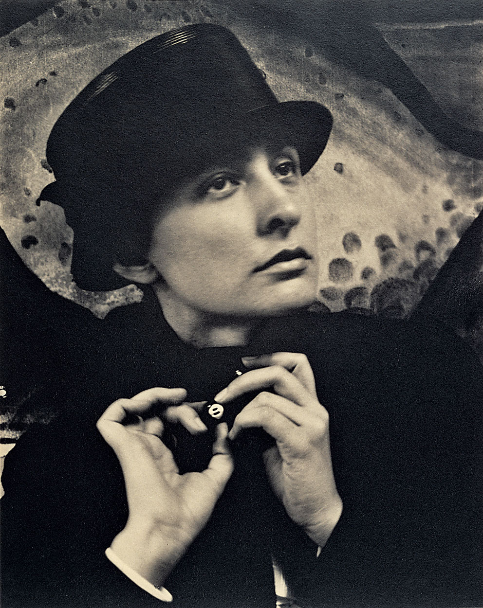 """Georgia O'Keeffe, A Portrait,"" 1918 by Alfred Stieglitz © J. Paul Getty Trust © 2009 Georgia O'Keeffe Museum/ARS, New York"