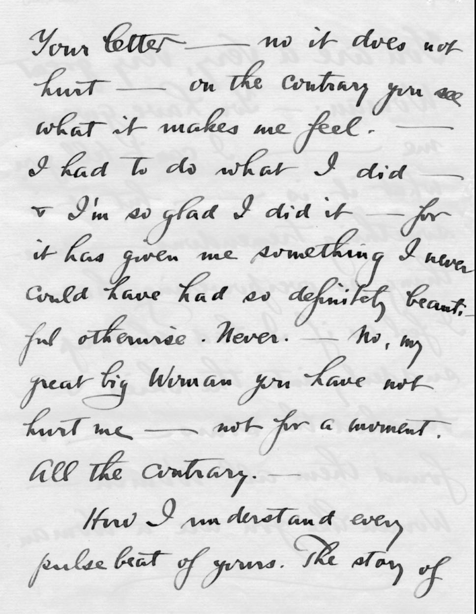 Letter by Stieglitz, 1916