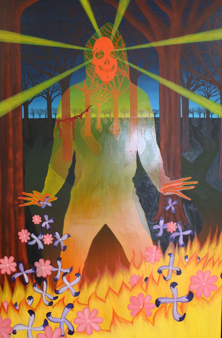 The Warrior , 2007 / Oil on Canvas