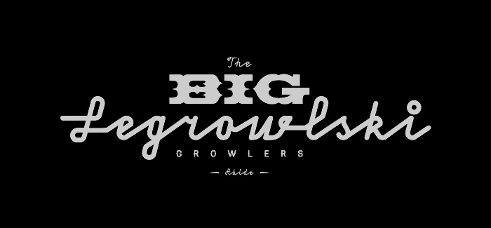 The Big Legrowlski Portland Oregon Growlers