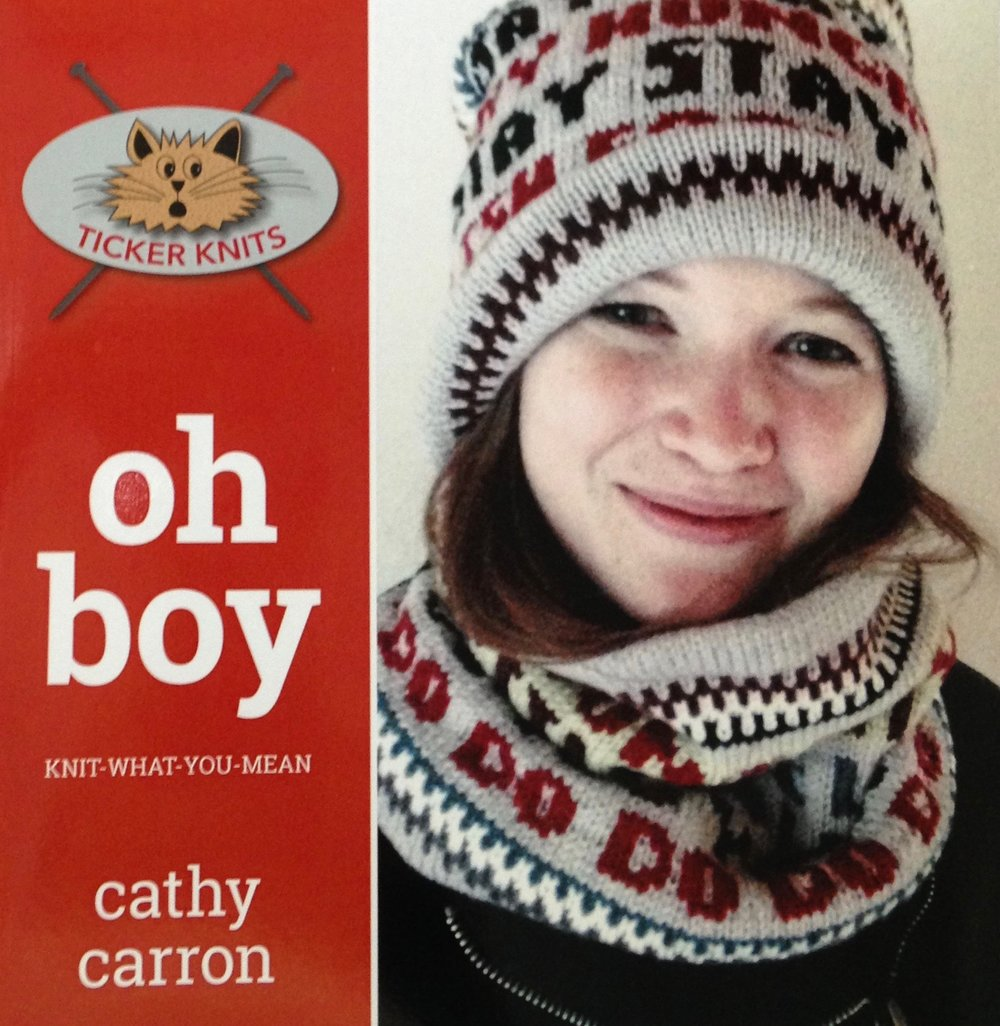 😺OH BOY : knit-what-you-mean  (TK#1) 👉🏼 amazon.com