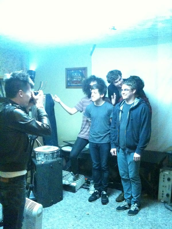 Surfer Blood are posing for their picture for JackinthePocket. Interview coming late this week.