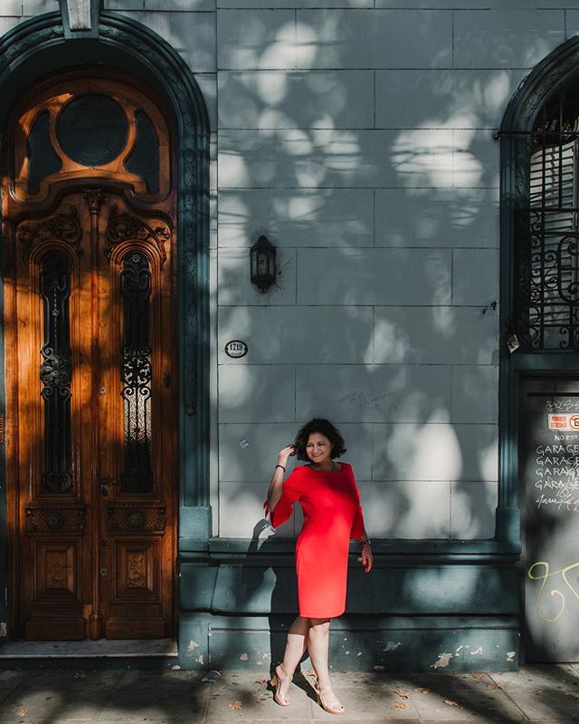 My client, Christina, is absolutely beautiful inside and out! If I could just photograph her and all the doors in Buenos Aires I would be happy forever! #buenosaires #solotraveller #shadowsandlight #shetravels #dreamclient #classicdoor #palermosoho #portrait #portraitphotography #reddress #tangodancer #lookslikefilm #nikon