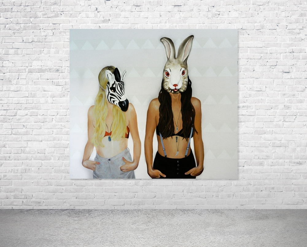 Zebra & Rabbit