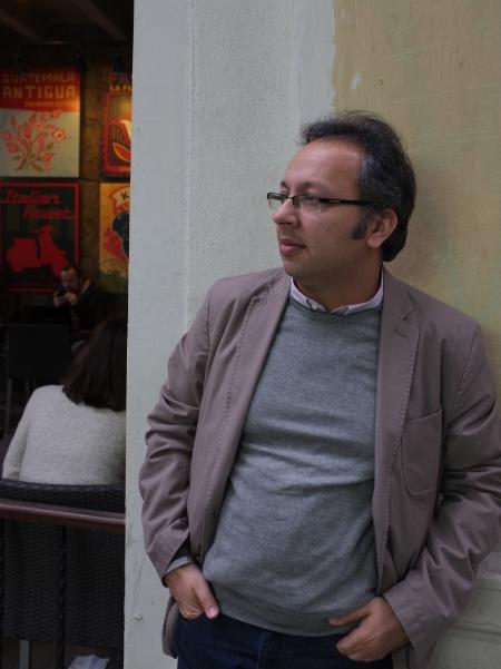 Jihad Yazigi in Istanbul, October 2012.