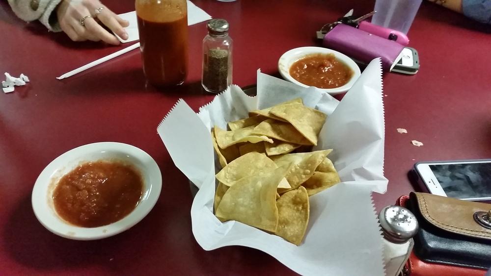Homemade Nachos & Salsa