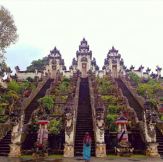 Pura Luhur Lempuyang, Karangasem  @explorebali