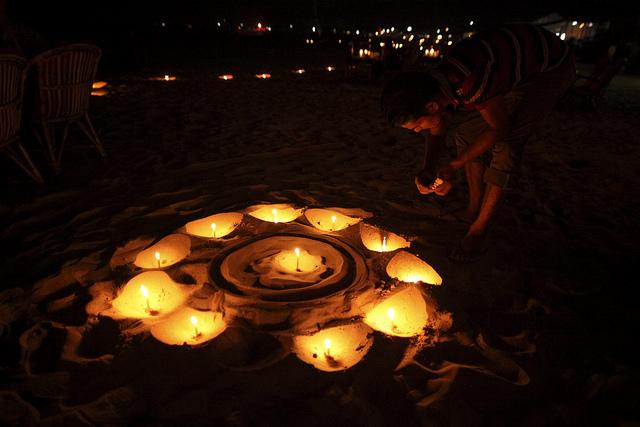 Beach in Goa ( Image Source )