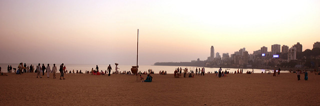 Chowpatty Beach ( Image Source )