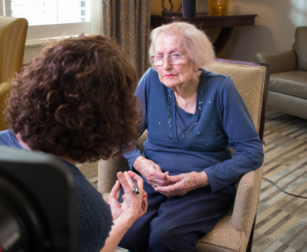 Interviewing Regina Resnick in Atlanta, March 2018.