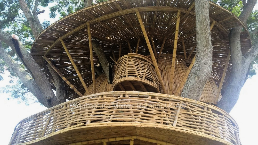 Arquitectura Mixta Bamboo Treehouse - Colombia