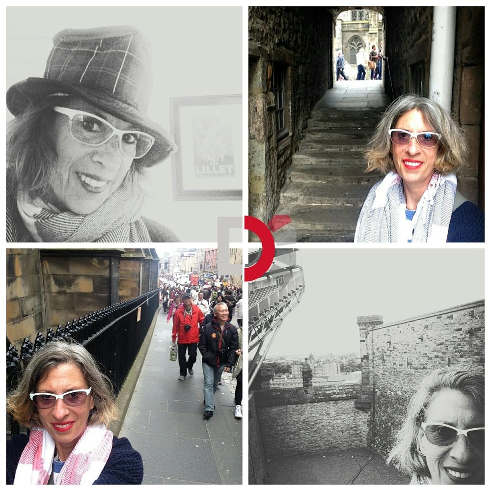Debbie Irwin in Scotland