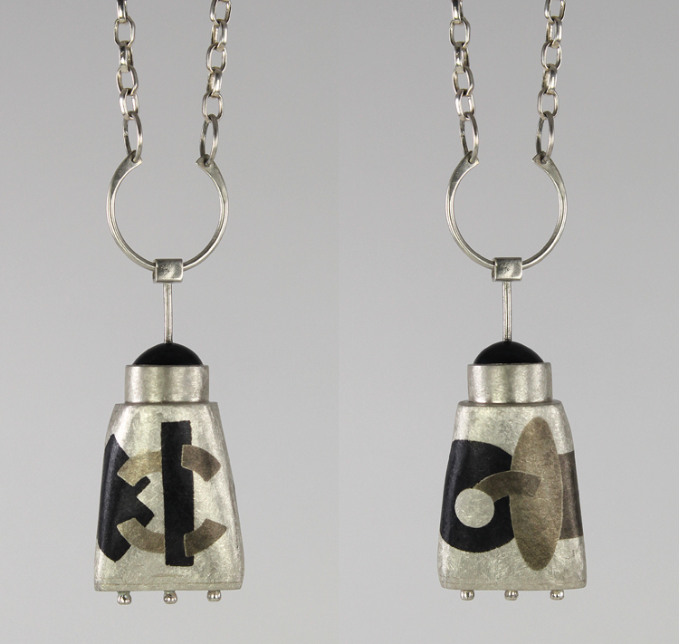 Inlay Hollow Form Pendant C