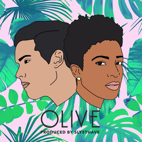 denitia and sene, 'Olive' cover art NPR Music premiere