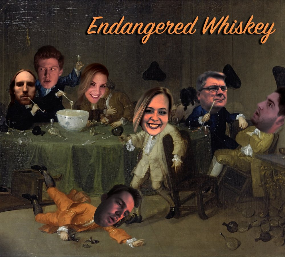 House team Endangered Whiskey takes the stage to perform the classic long-form improvisational format The Harold!