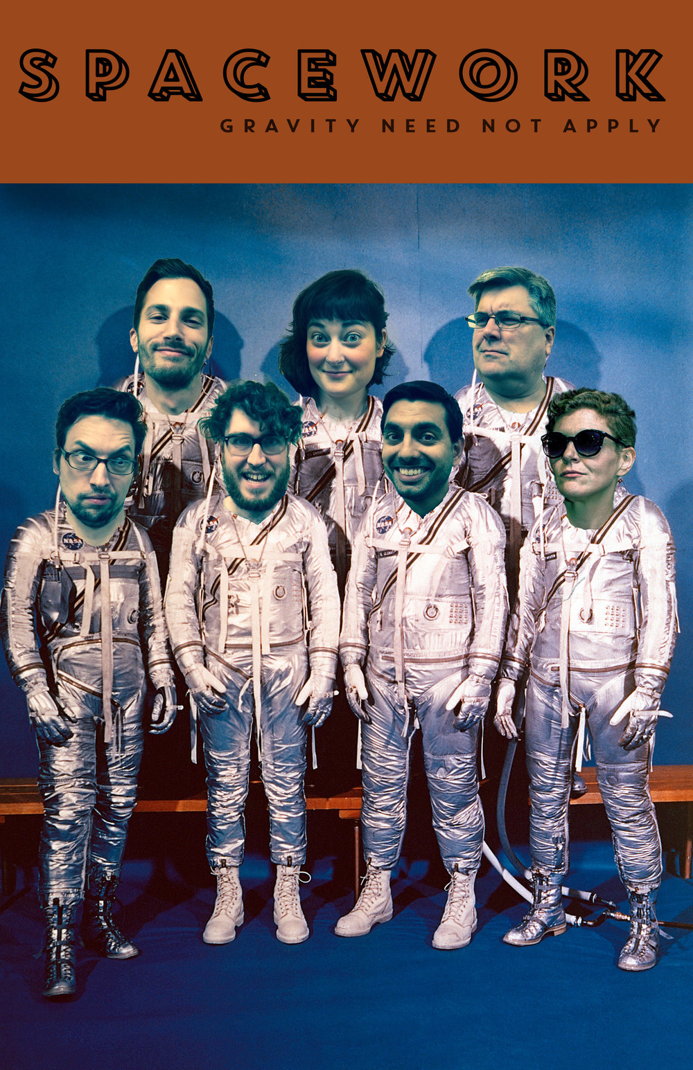 "Spacework performs their original ""Lokane""--a combination of a LaRonde and Spokane--for an hour of character-driven delight.  $5 per show, or only $10 buys you an entire night of laughs. BYOB!"