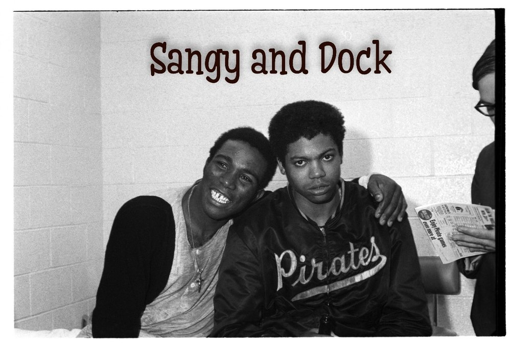 Sangy and Dock perform a two person character based show.